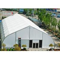 Quality 40 x 90 M With Fire Retardant White PVC Fabric TFS Tents For Events Heat Resistant for sale