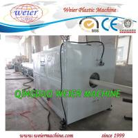 Quality Water Pvc Pipe Extrusion Line , Plastic Pipe Making Machine 63mm to 200mm diameter for sale