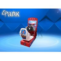 Buy cheap Kiddie rides electric coin operated racing car simulator video racing game from wholesalers