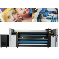 Buy cheap High Speed Digital Fabric Printing Equipment 1800DPI Resolution With 4720 Head from wholesalers