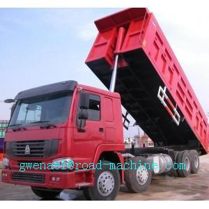 HOWO A7 Heavy Duty Dump Truck 336HP 6x4 EURO II 190 Horse Power