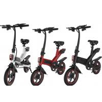 Quality Intelligent City Portable Folding Electric Bike 36V 10AH 25KM / H 120kg Loading Ability for sale