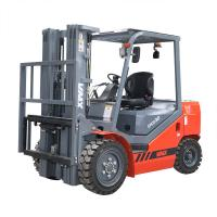 Quality CPCD30 Diesel Powered Forklift Truck 125mm Fork Width With Isuzu Tyres for sale