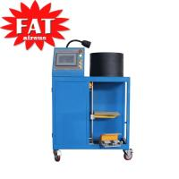 China Gas - Filled Hydraulic Hose Crimping Machine With Rubber Steel on sale