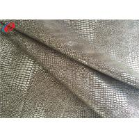 Quality 60 Inch Waterproof Non-Stretchr Micro Suede Polyester Fabric For Sofa / Garment for sale
