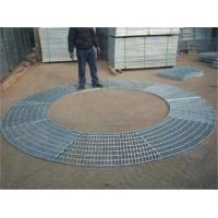 Buy cheap Circular Sector Welded Steel Grating / Steel Catwalk Grating For Trees Protection from wholesalers