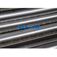Quality Heat Exchanger Stainless Steel Welded Tubing ASTM A270 / A249 For Papermarking for sale