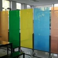 Quality 5mm Switchable Privacy Protection PDLC Smart Glass For Home for sale