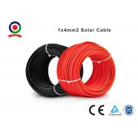 Buy cheap TUV 12 AWG PV1 -F single core DC 2 PfG 1169 4mm2 solar pv cable from wholesalers