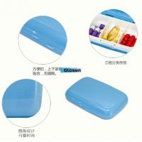Quality Blue / White Multifunctional Stopping  Mini Pill Case Fashionable for sale