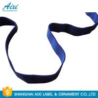 Buy cheap Decorative Coloured Fold Over Elastic Webbing Straps For Underwear from wholesalers
