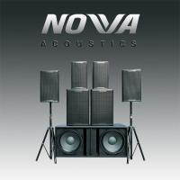 Indoors / Outdoor Real Sound Professional Audio Systems For Living Show