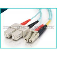 Buy cheap Bend Insensitive Multimode Fiber Optic Patch Cables LC - SC 2.0mm for Telecommun from wholesalers