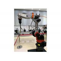 Quality IPG Laser Welding Robot , Robotic Welding Equipment Easy Settings With Teach Pendant for sale