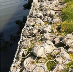 Quality River Bank Protect Stone galvanized Gabion Mesh Box/reno mattress for sale
