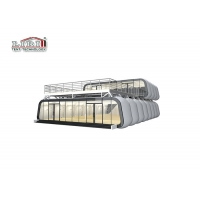 Quality Aluminum PVC Modular Design Movable Hotel Tent for Resorts, Luxury Module Capsule Tents Used as Pop up Hotel for sale