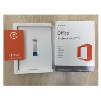 Quality English Microsoft Office Professional Plus 2016 , Windows Product Key Sticker Label for sale