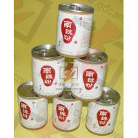 Quality OEM Easy Open Lid Paper Cans Packaging Recyclable For Food for sale