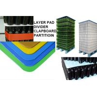 Quality sealed edge round corner pp pallet layer pad for sale