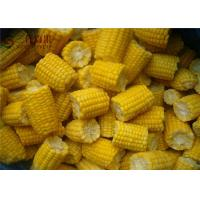Quality Natural Organic Frozen Vegetables Frozen Sweet Corn / Baby Corn Contains No Cholesterol for sale