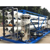 Buy Salt Water Treatment Machine Reverse Osmosis Industrial Water Purification at wholesale prices