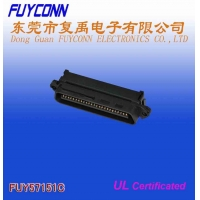 Quality TYCO RJ21 25 Pair Male Centronic Champ IDC Connector with Cable Clip Certificated UL for sale