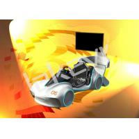 Quality Attractive Leke Virtual Reality Car Simulator With Speeding Race 9D VR Simulator for sale