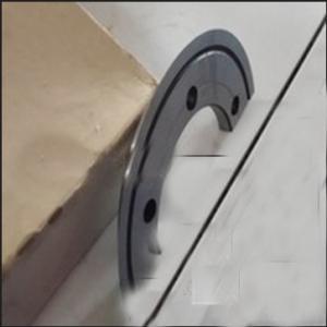 semi-automatic carton box making slitting creasing machine