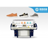 Quality Single Carriage Computerized Shoe Upper Knitting Machine for sale