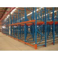 Quality Industrial steel structure gravity flow racking for warehouse storage , 1500KG for sale
