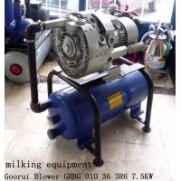 China 7.5kw Extra High Vacuum Air Pump For Milking Machine on sale