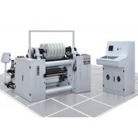 Quality High Speed Label Slitter Rewinder Machine Photoelectric Correcting System for sale