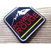 Buy cheap Environmental 3D Custom Embroidered Patches Sew Iron On For Clothing , Bag from wholesalers