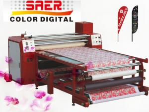 Quality 1600mm calander heat press sublimation rotary calander printers for fabric print for sale