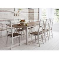 Buy cheap Extensible Long Modern Dining Table Furniture Matt Lacquer Finish Corrosion from wholesalers