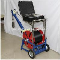 Quality Underground Borehole Inspection Camera with 75mm Diameter Camera with 120m to 3000m Cable for sale