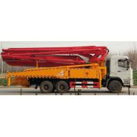 Quality DZ Special Purpose Trucks 24m Concrete Boom Pump Truck With WD615.95 Engine for sale