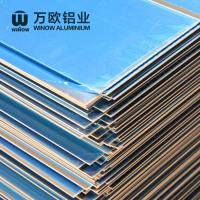 Quality Metal Alloy Flat Aluminum Plate 600 - 2280mm Width High Strength For Construction for sale