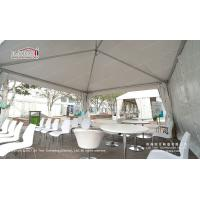 Quality 50m Width Second Hand Marquee For Magic Show With Clear Span / White Marquee Tent for sale