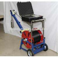 China Well borehole video inspection camera with multi-function DVR control box on sale