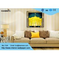Buy Eco - friendly Vinyl Stripes Modern Removable Wallpaper for Living Room at wholesale prices