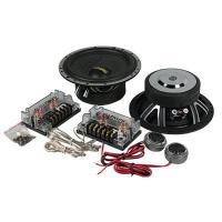 Quality 20KHZ Component Car Speakers 4 Ohm , 75W Two Way Car Speaker Woofer for sale