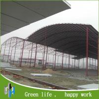 Quality prefab shed steel frame prefabricated light steel structure shed for sale