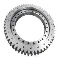 Buy cheap 50Mn turntable bearing, China slewing ring manufacturer, single row ball from wholesalers