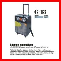 Quality 160W Professional Stage Peakers With USB/SD/EQ/Karaoke (G-13) for sale