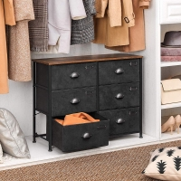 China Fabric Drawer Dresser for Sale, Drawer Dresser for Bedroom, Industrial Style Drawer Dresser, Chest of Drawer, ULVT23H on sale
