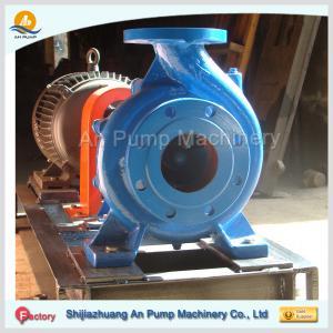 Quality electric domestic end suction cast iron pumps for sale