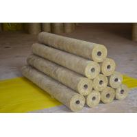 Buy cheap High Density Rockwool Pipe Insulation Material Heat Resistant ISO CE from wholesalers
