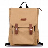 Quality Washable Women And Mens Shoulder Bags Canvas Fashion Backpack Large Capacity for sale