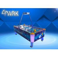 Quality Blue Classic Coin Operated Arcade Machines Indoor Sport Game / Air Hockey Table for sale